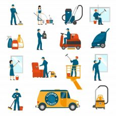 industrial-cleaning-service-flat-icons-set_1284-8612
